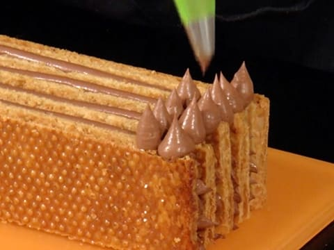Chocolate Millefeuille - 85