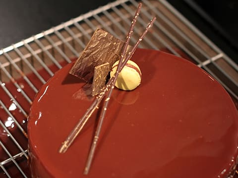 Intense Chocolate Mousse Cake - 72