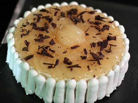 Chocolate & Pear Mousse Cake - 77