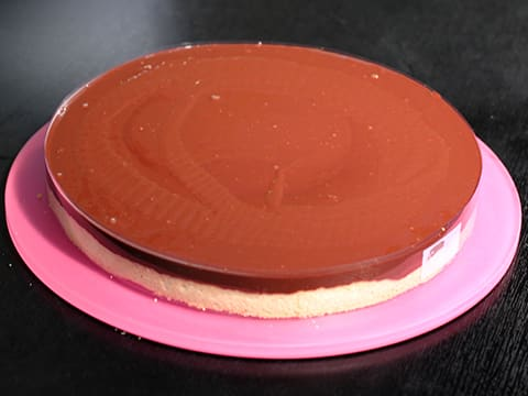 Chocolate Tart, like a Flower - 48