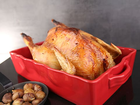 Christmas Chicken with Chestnut Stuffing & Almond Potatoes - 58
