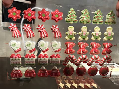 Christmas Chocolates (with Transfer Mould) - 12