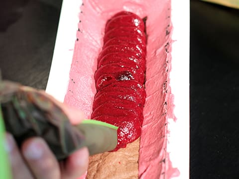 Blackcurrant Yule Log - 52