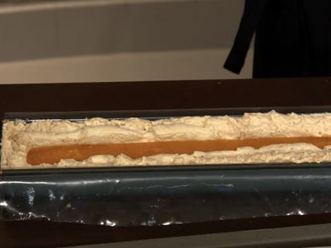 Caramelized White Chocolate & Apricot Yule Log - 75
