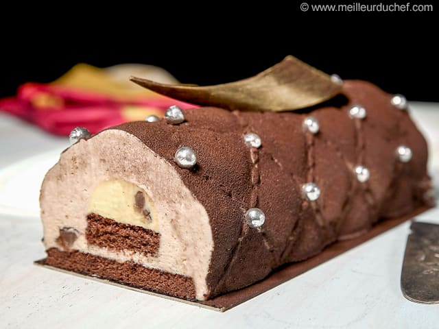 Chestnut Yule Log