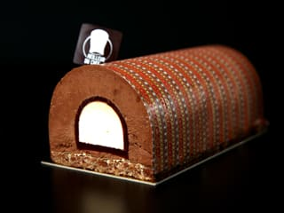 Chocolate & Apricot Yule Log