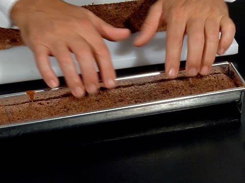 Two-Chocolate & Pear Yule Log - 35