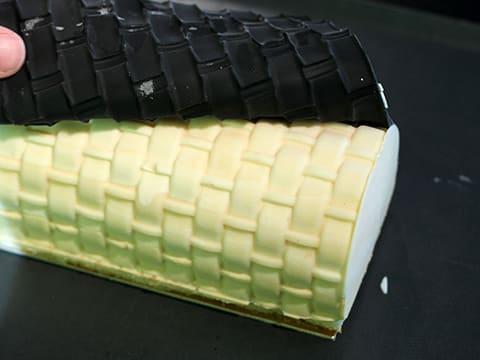 Exotic Fruit, Coconut & Chocolate Yule Log - 87