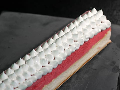 Ice Cream & Meringue Yule Log - 56