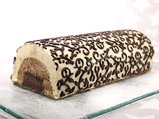 Three-Flavour Ice Cream Yule Log