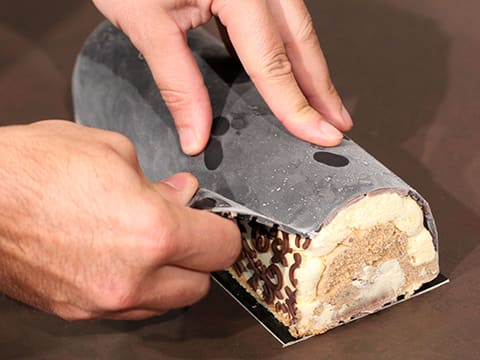Three-Flavour Ice Cream Yule Log - 94