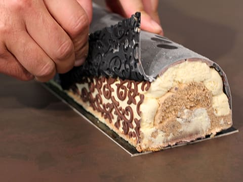 Three-Flavour Ice Cream Yule Log - 95