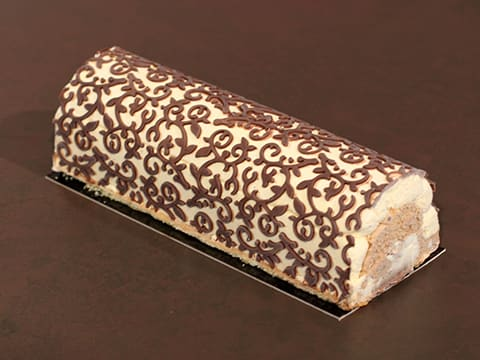 Three-Flavour Ice Cream Yule Log - 97