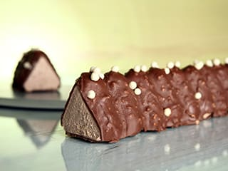 Milk Toblerone® Yule Log