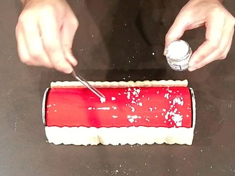Red Berry Charlotte Yule Log - 67