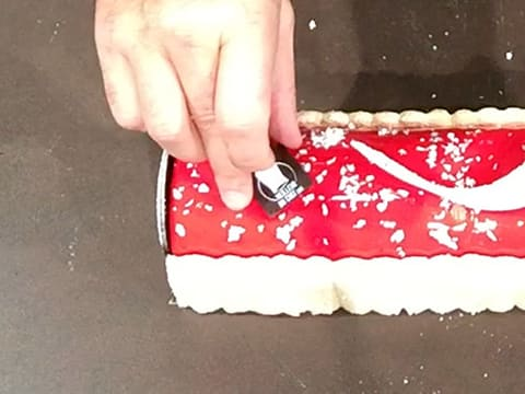 Red Berry Charlotte Yule Log - 69