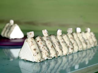 White Toblerone® Yule Log