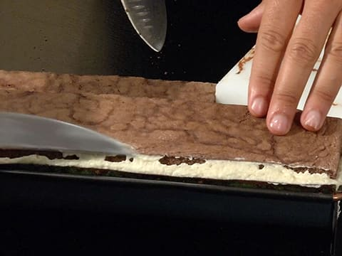 Pear & Chocolate Yule Log - 75