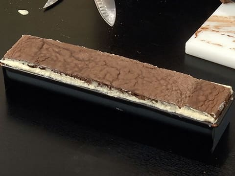 Pear & Chocolate Yule Log - 76