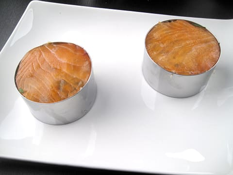 Crab & Smoked Salmon Stack - 17