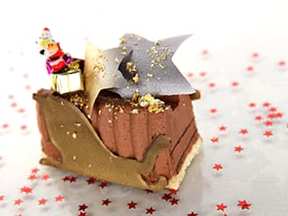 Creamy Chocolate Yule Log