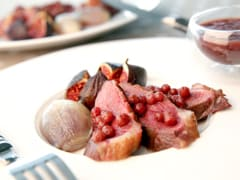 Duck Magret with Figs