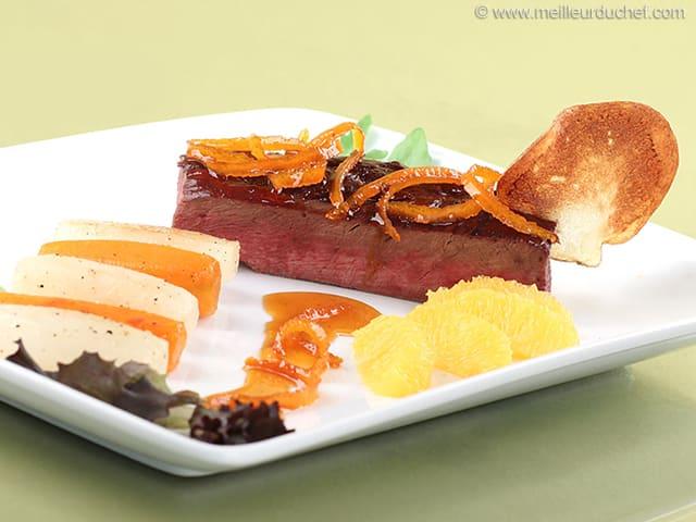 Duck à l'Orange - Recipe with images - MeilleurduChef.com