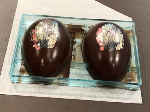 Dark Chocolate Easter Egg with Inclusions - 27