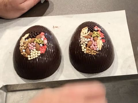Dark Chocolate Easter Egg with Inclusions - 28