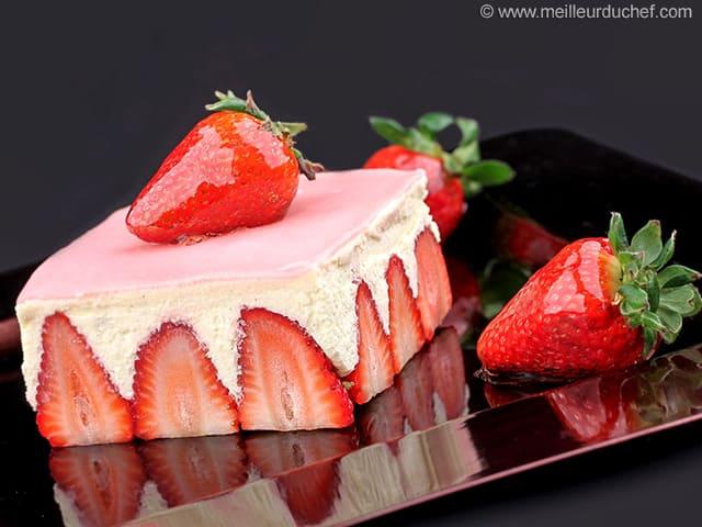Pistachio Fraisier Cake Illustrated Recipe