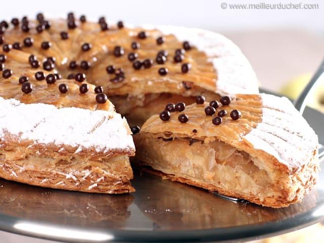 Caramel apple galette des rois illustrated recipe - Decor galette des rois ...