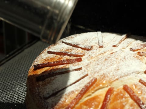 Chocolate & Candied Orange Galette des Rois - 48