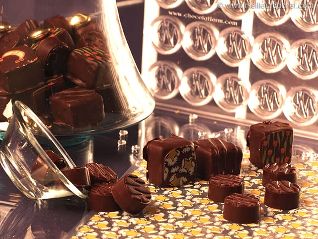 Ganache-Filled Chocolates