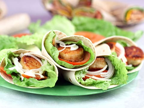 Breaded Goat's Cheese Wraps - 10