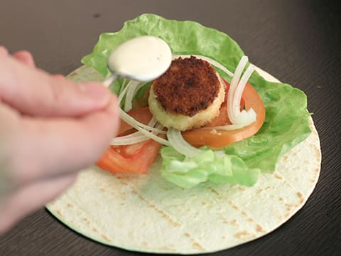 Breaded Goat's Cheese Wraps - 9
