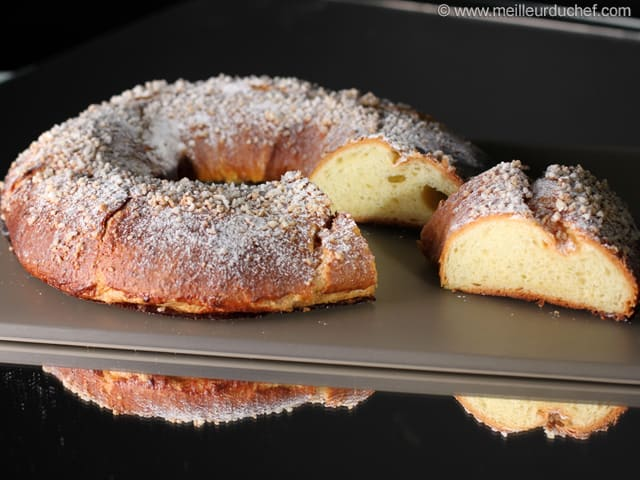 Easy King Cake Brioche