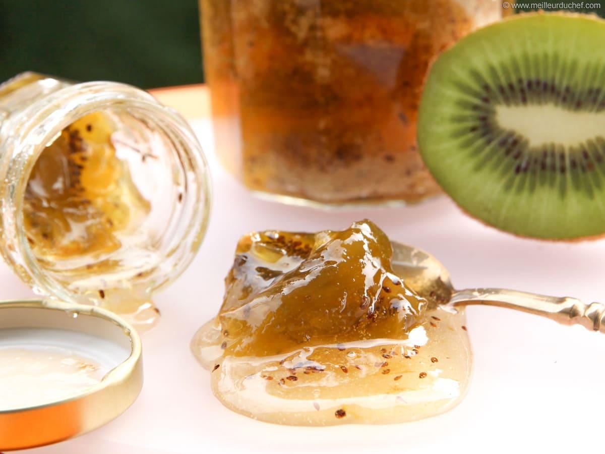 Kiwi Jam Our Recipe With Photos Meilleur Du Chef