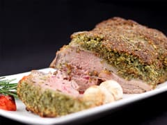 Rack of Lamb with Parsley Crust