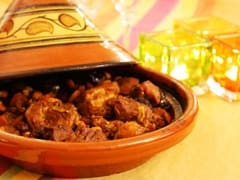 Lamb Tajine with candied Tomatoes
