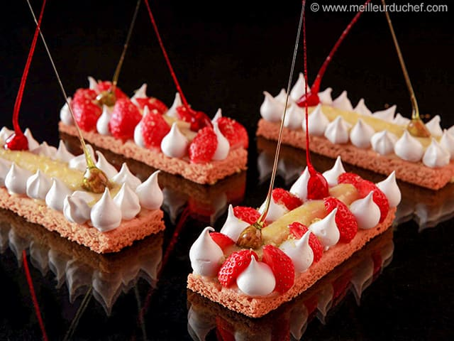 Lime & Strawberry Tartlets - Our recipe with photos - MeilleurduChef ...