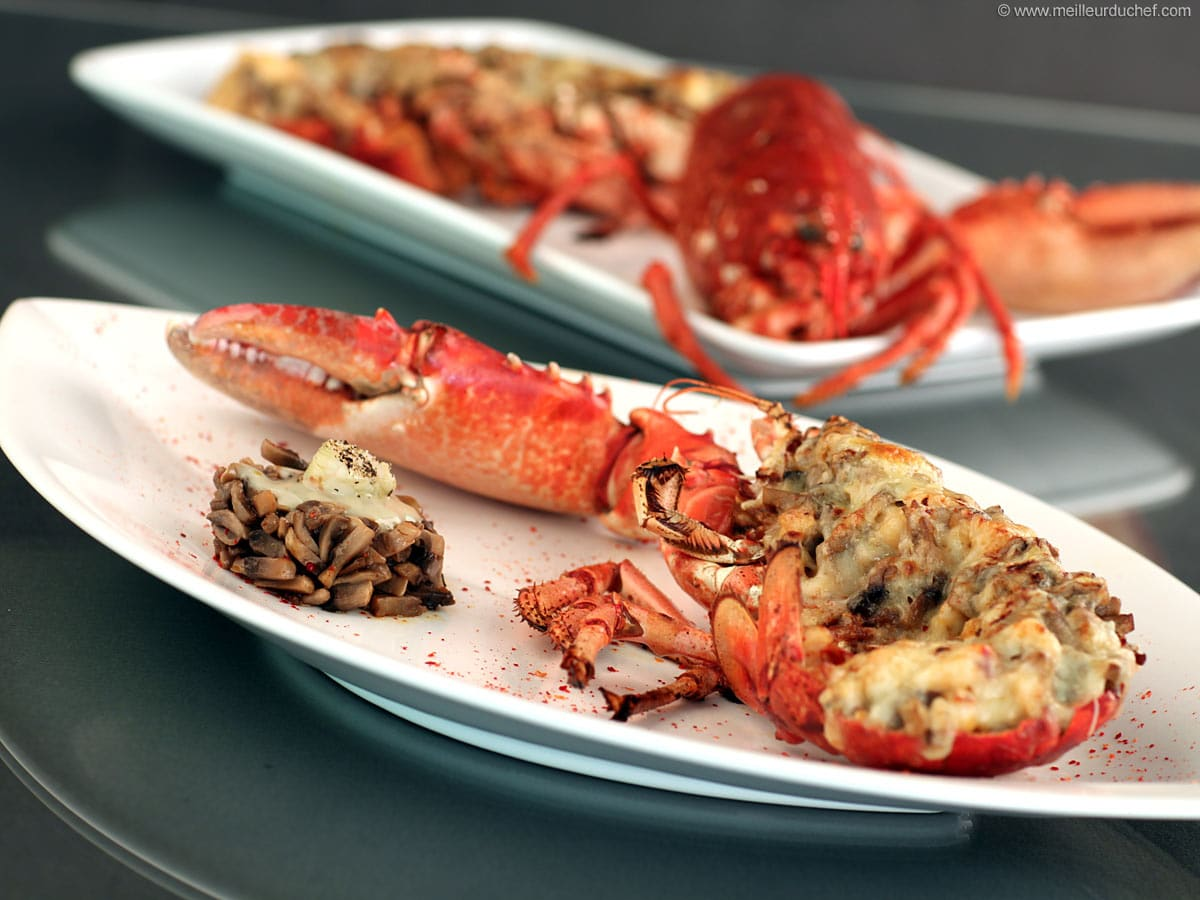 Lobster Thermidor Our Recipe With Photos Meilleur Du Chef