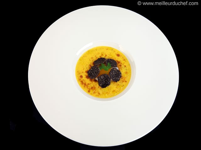 Slow-Cooked Egg with Black Truffle