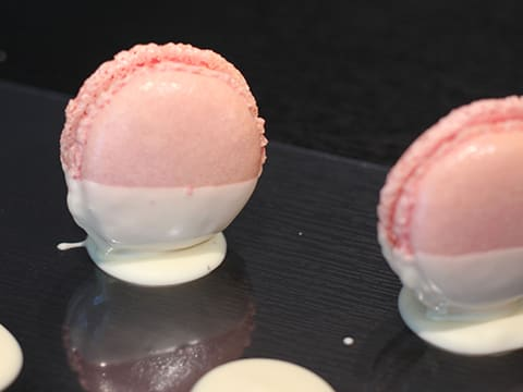Grapefruit & White Chocolate Macarons - 28