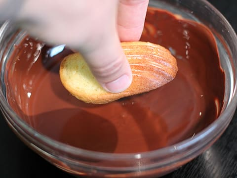 Chocolate-Dipped Madeleines - 22