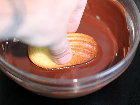 Chocolate-Dipped Madeleines - 23