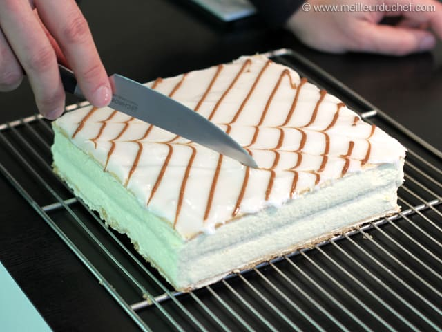Mille-feuille Fondant Icing