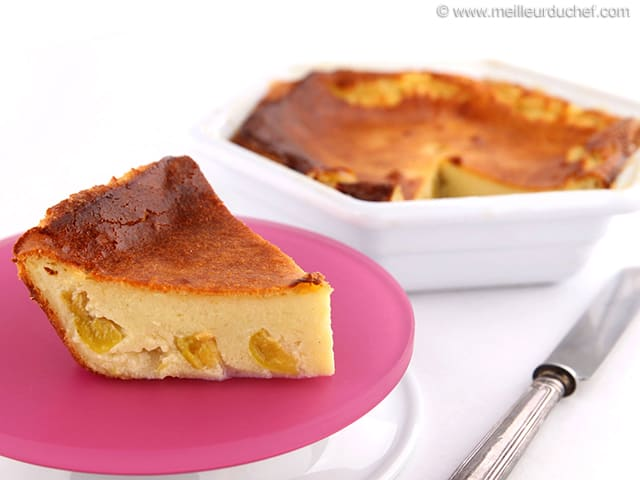 Mirabelle Plum Clafoutis - Recipe with images - MeilleurduChef.com