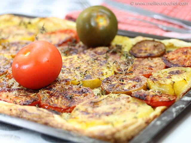Mixed Tomato Tart