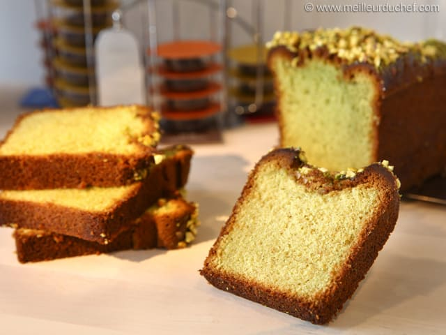 Super Moist Pistachio Loaf Cake