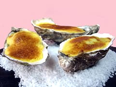 Oysters with Champagne Sabayon